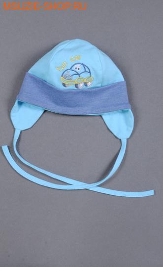 Милашка Сьюзи шапка. 62  голубой ростГоловные уборы,варежки,перчатки <br><br>