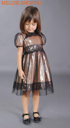 Милашка Сьюзи платье. 104 персик ростнарядная одежда<br><br>