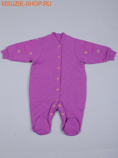 Милашка Сьюзи комбинезон. 68 св.фиолет ростДля новорожденных<br><br>