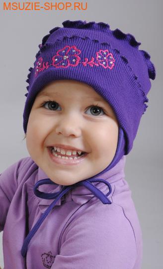 Милашка Сьюзи шапочка. 62 фиолет ростГоловные уборы,варежки,перчатки <br><br>
