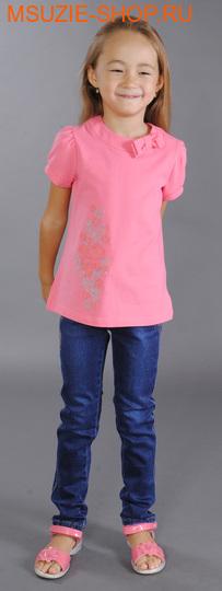 Милашка Сьюзи футболка. 104 ярк.розовый ростДжемпера, рубашки, кофты<br><br>