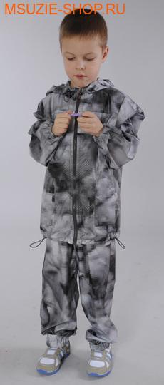 Милашка Сьюзи брюки ветрозащитные. 104 серый ростВесна-лето<br><br>