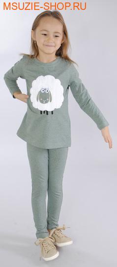Милашка Сьюзи блузка. 104 св.зеленый ростДжемпера, рубашки, кофты<br><br>