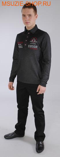 Милашка Сьюзи рубашка-поло. 140 черный ростДжемпера, рубашки, кофты<br><br>