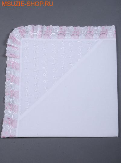 Милашка Сьюзи пеленка-уголок. уголок розовый росткомплекты для выписки,крестильные наборы<br><br>