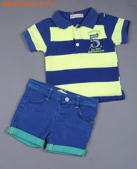 Милашка Сьюзи футболка+шорты. 68 коралл ростКостюмы <br><br>