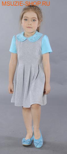 Милашка Сьюзи платье. 104 голубой ростПлатья <br><br>
