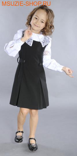 Милашка Сьюзи сарафан. 122 черный ростСарафаны/платья <br><br>