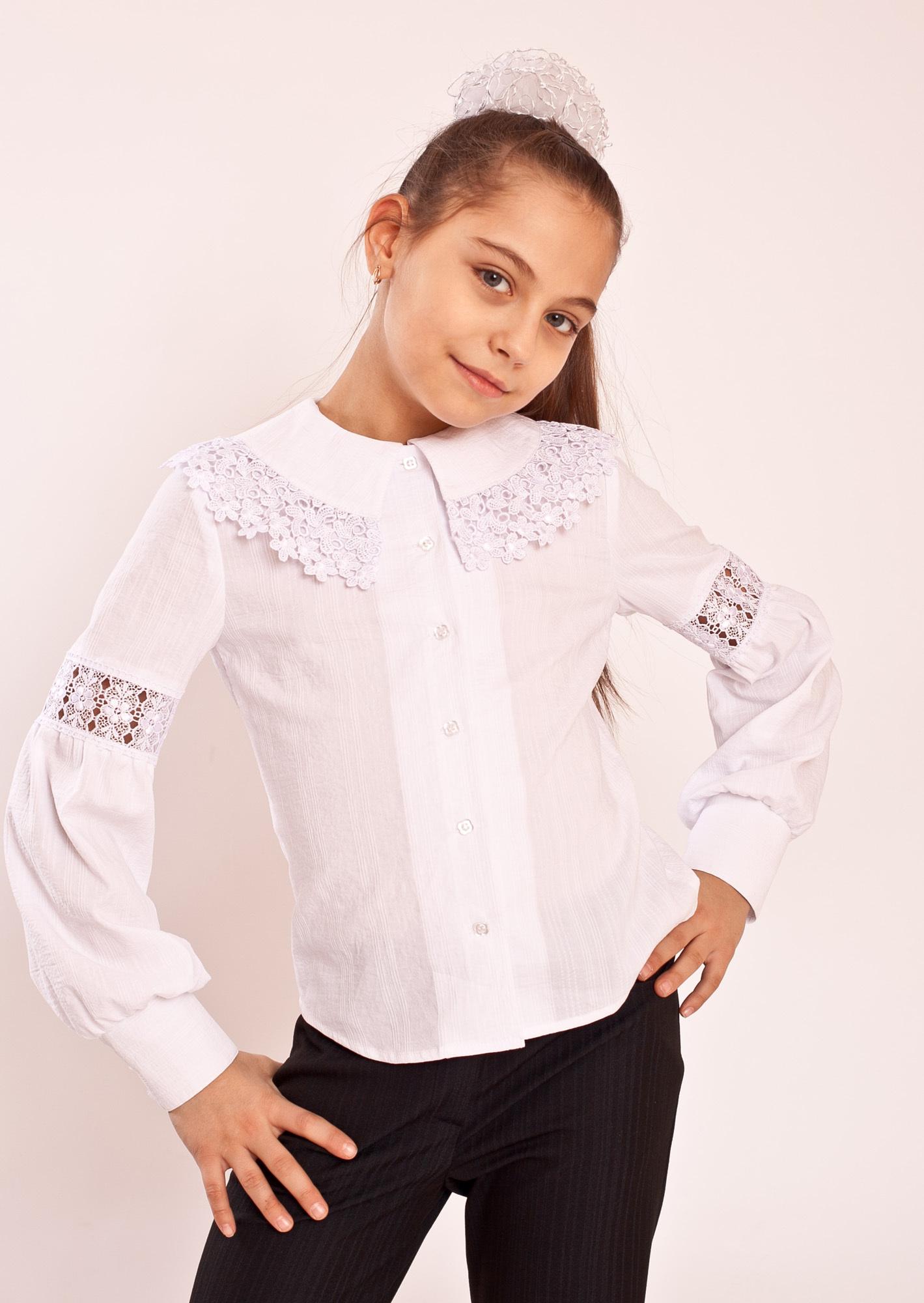 Купить Блузку Для Школы В Москве