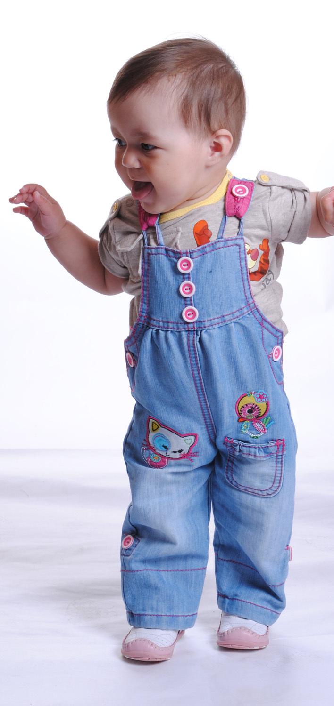 Детский комбинезон на лямках своими руками