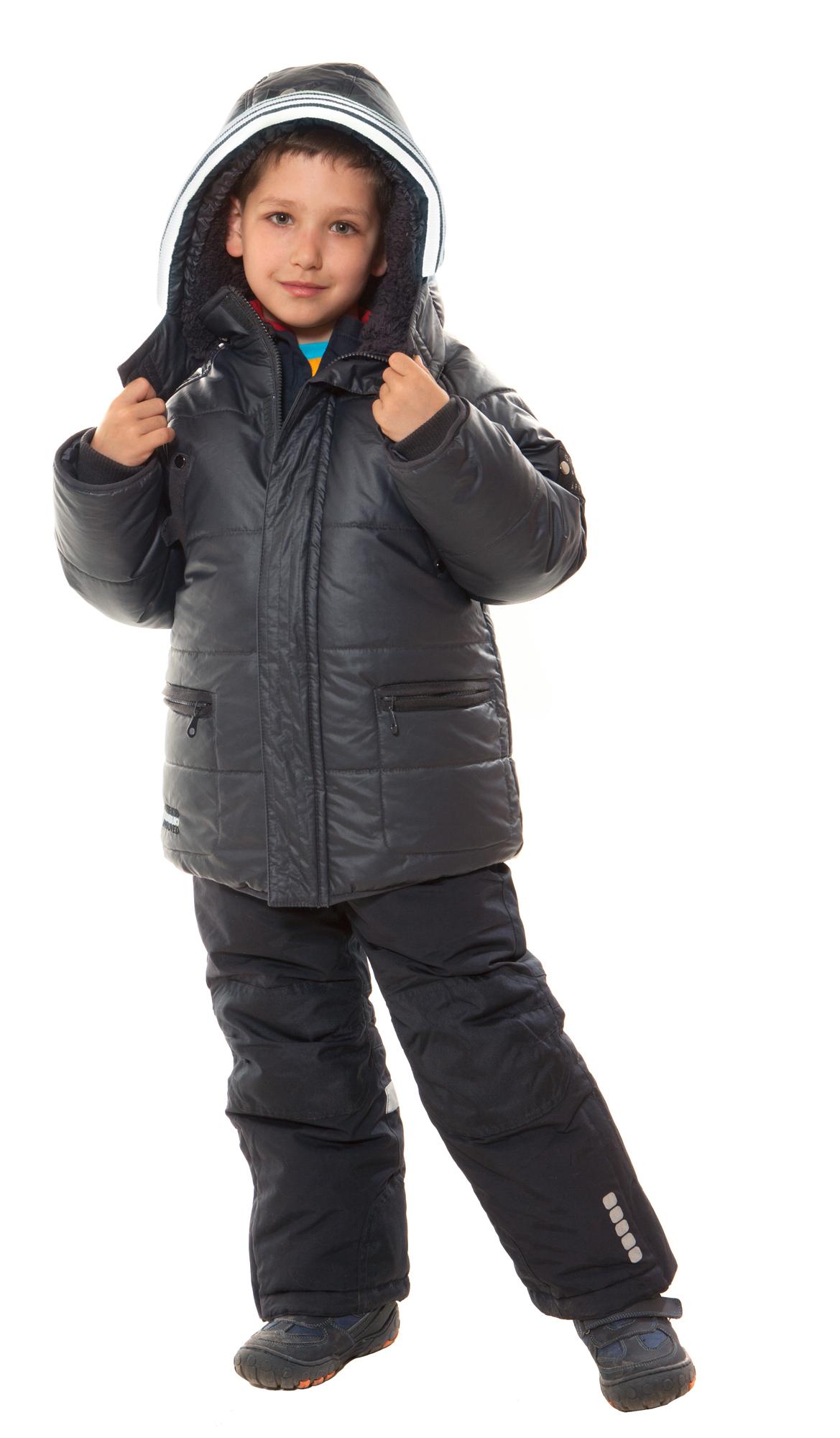 Купить зимний комбинезон для мальчика 140