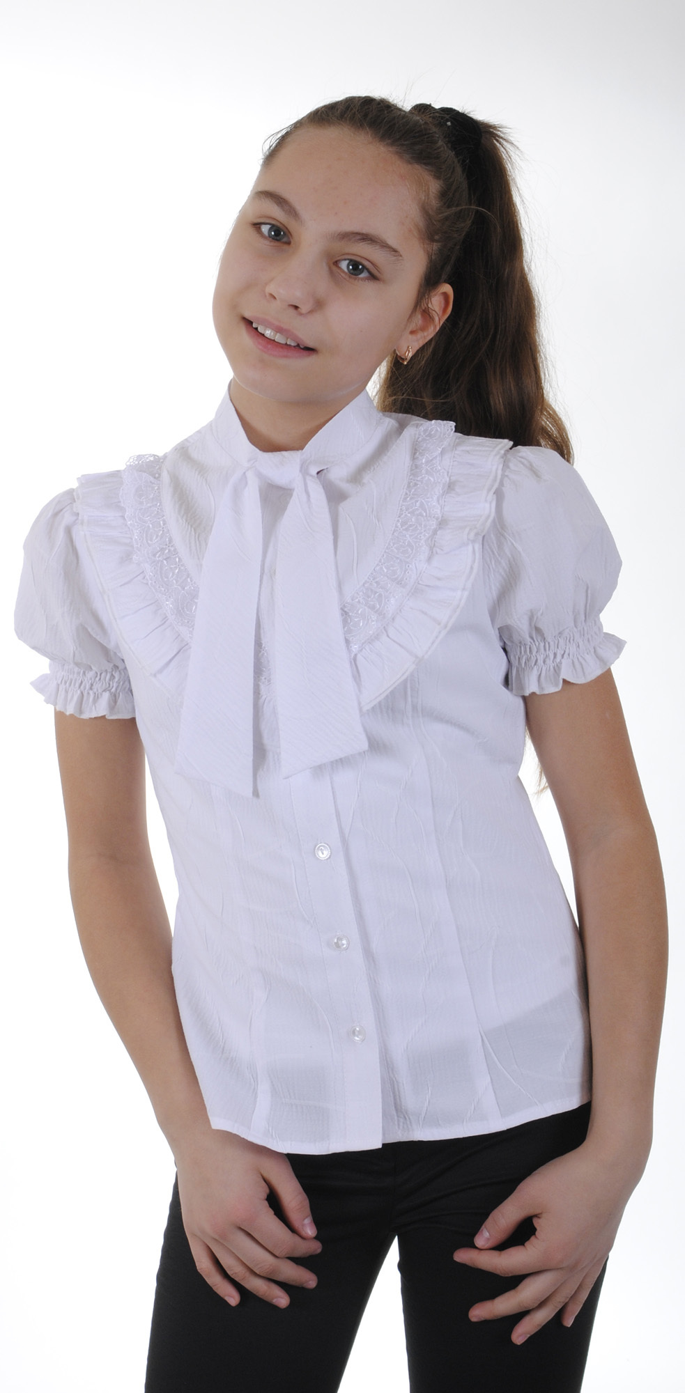 Купить Школьную Блузку Белую