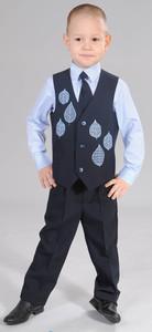 жилет+брюки+сорочка+галстук