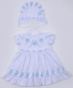 платье+чепчик