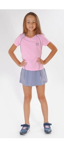 футболка+юбка-шорты